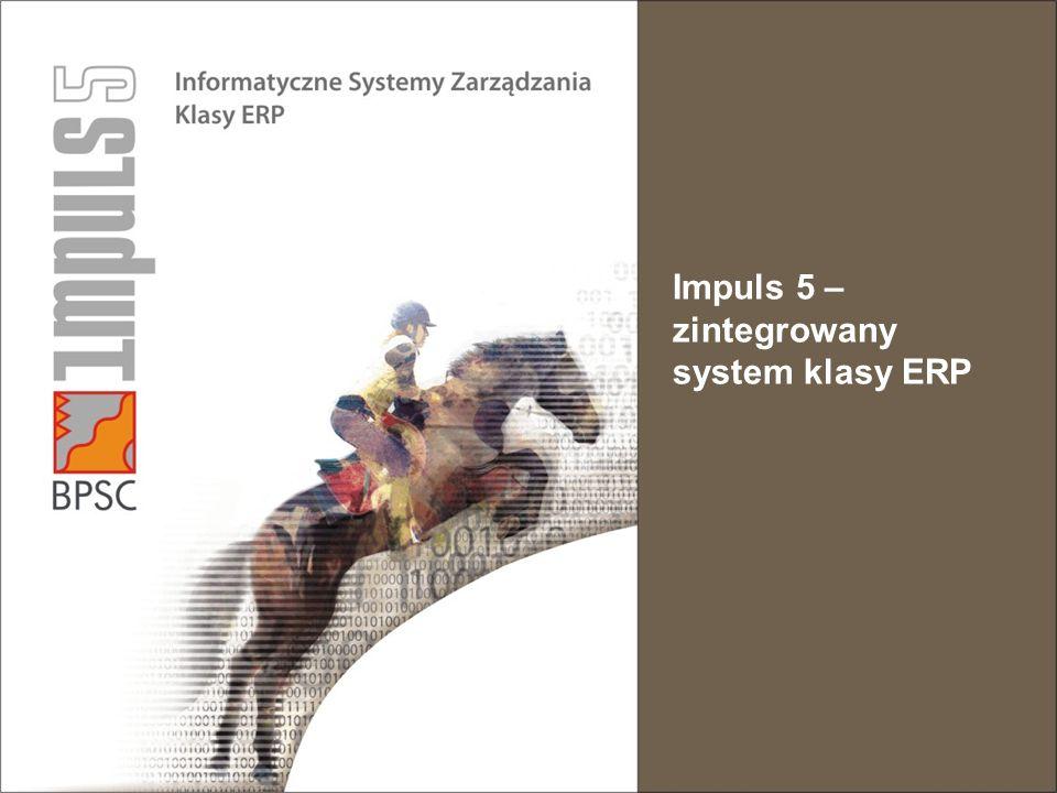 Impuls 5 – zintegrowany system klasy ERP