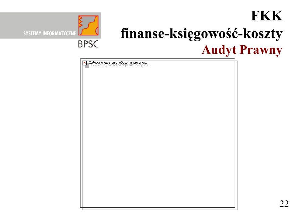 22 FKK finanse-księgowość-koszty Audyt Prawny