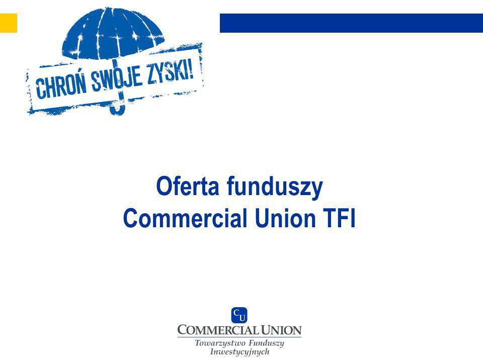 Oferta funduszy Commercial Union TFI