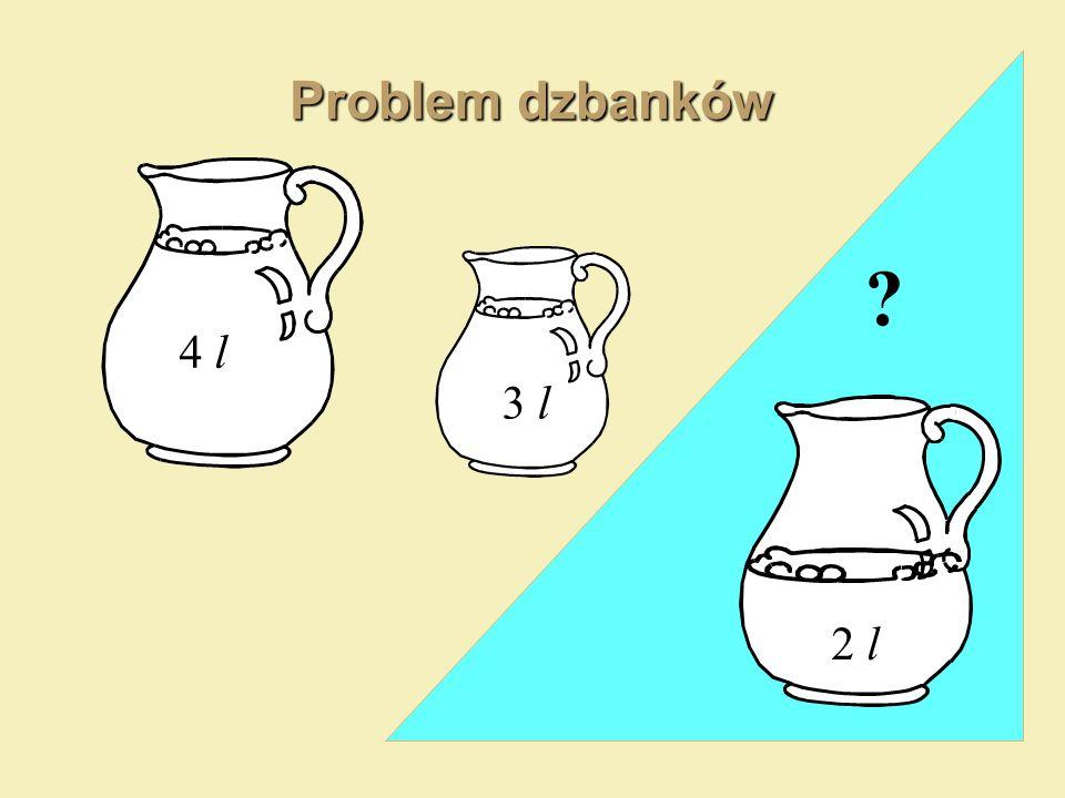 Problem dzbanków 4 l 3 l 2 l ?