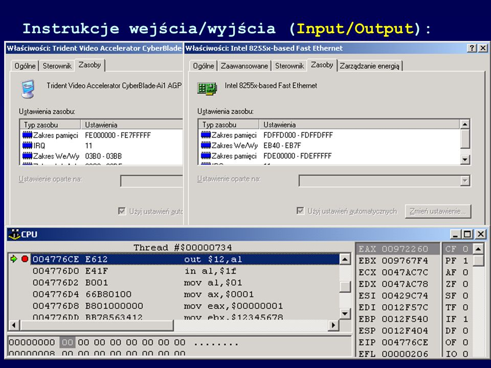 Budowa mikroprocesora typu CISC Complete Instruction Set Computer