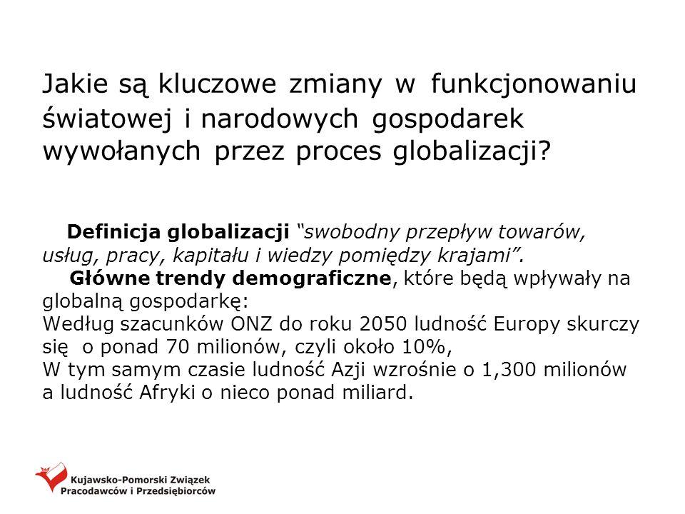 Jakie są kluczowe zmiany w funkcjonowaniu światowej i narodowych gospodarek wywołanych przez proces globalizacji? Definicja globalizacji swobodny prze