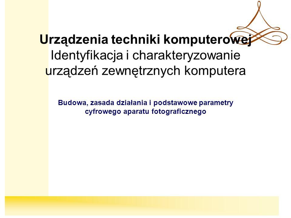 2 Cele W toku lekcji: Poznasz zasadę działania cyfrowego aparatu fotograficznego Poznasz podstawowe elementy budowy cyfrowego aparatu fotograficznego Nauczysz się transferować zdjęcia z aparatu do komputera