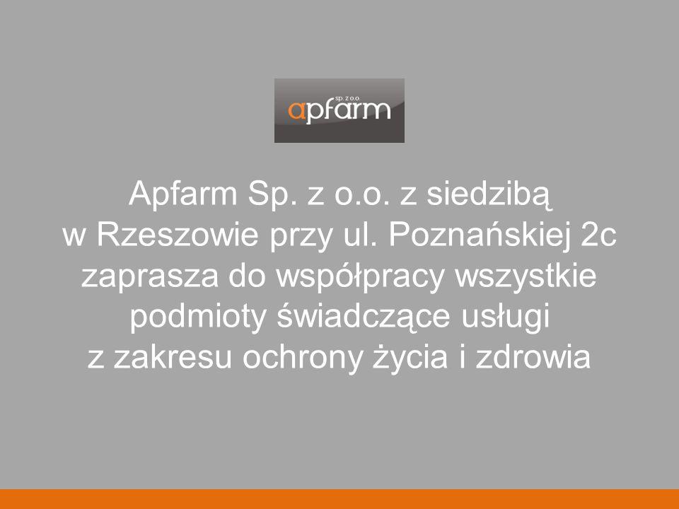 Apfarm Sp. z o.o. z siedzibą w Rzeszowie przy ul.