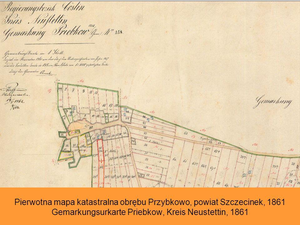 Przykład dokumentacji Naczelnej Dyrekcji Poczty w Koszalinie. Rzuty i rysunki urzędu pocztowego w Karlinie, 1914