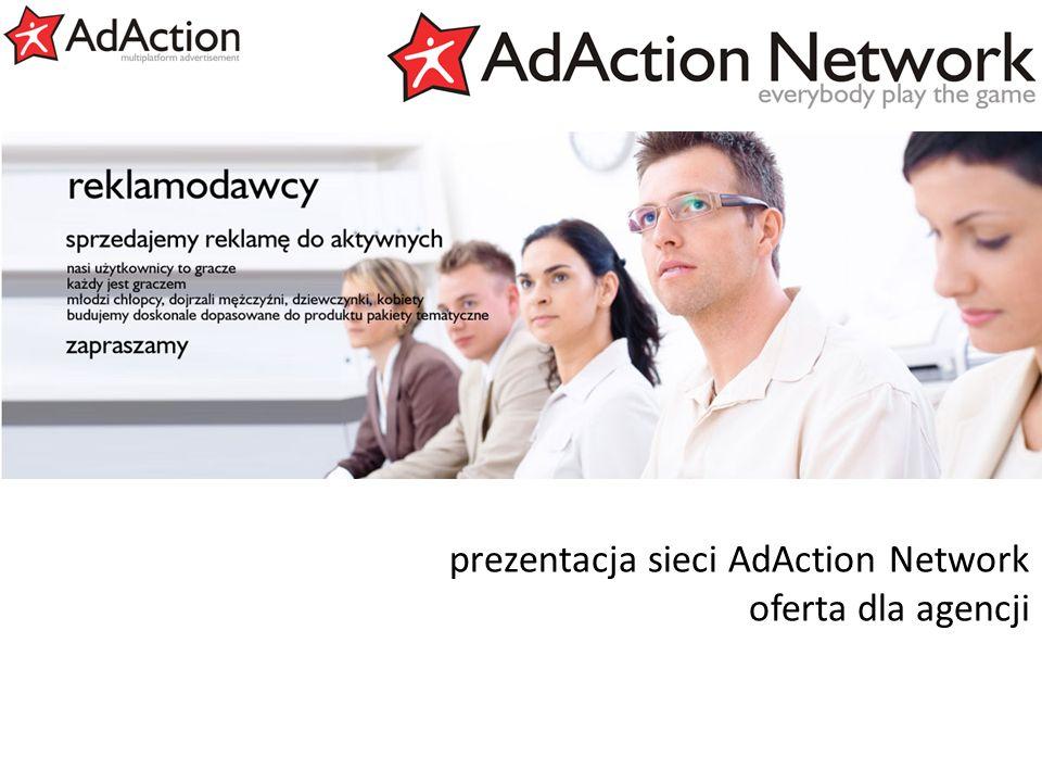 generujemy efekty prezentacja sieci AdAction Network oferta dla agencji