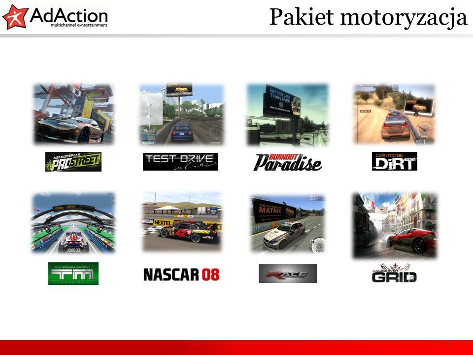 1 Racing vertical example Pakiet motoryzacja