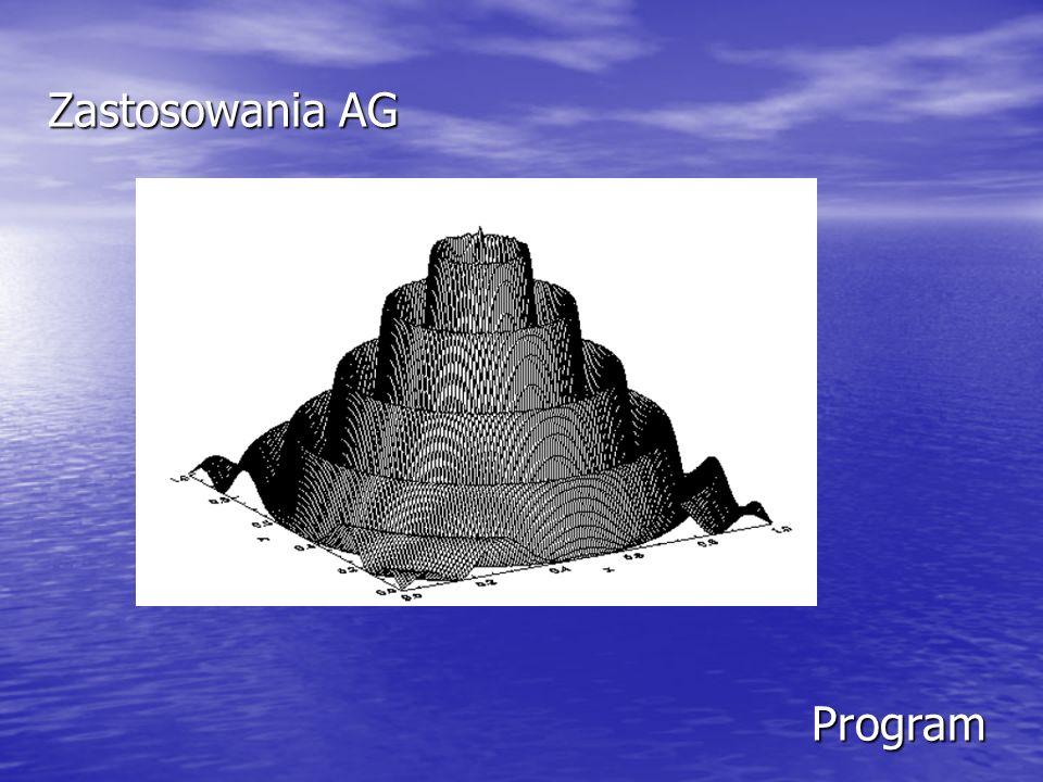 Zastosowania AG Program