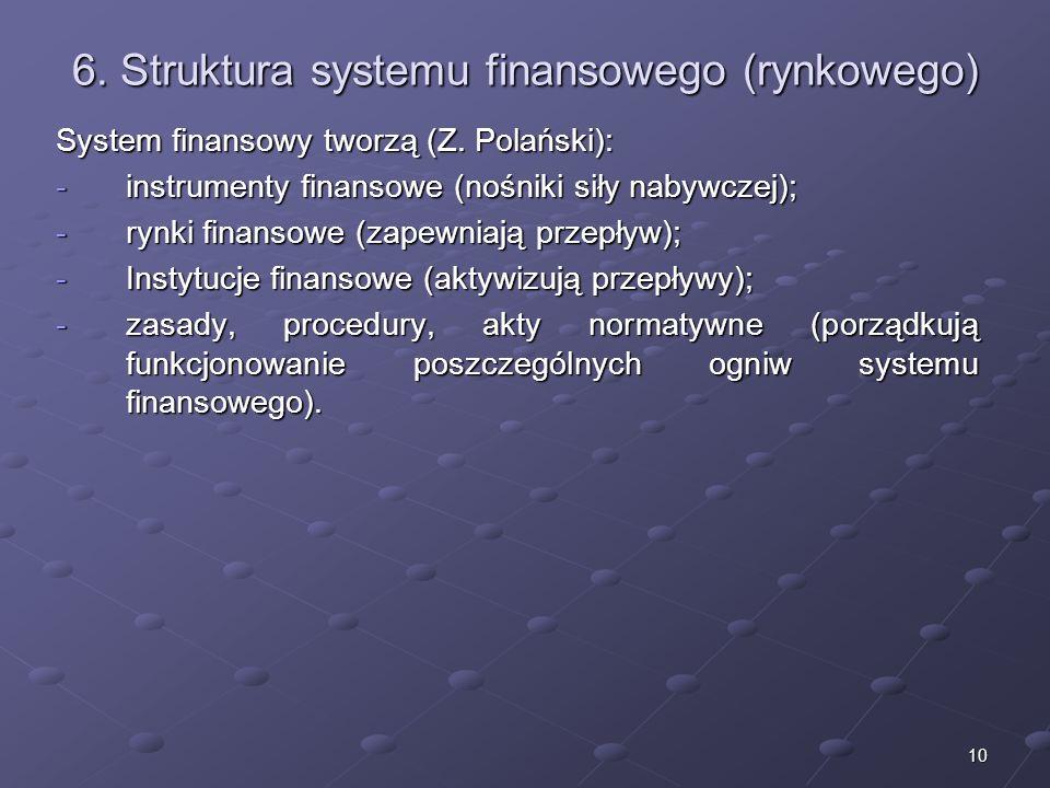 9 5. Destabilizacja systemu finansowego Przykładem destabilizacji systemu finansowego może być kryzys systemu finansowego, który rozpoczął się w VII 2