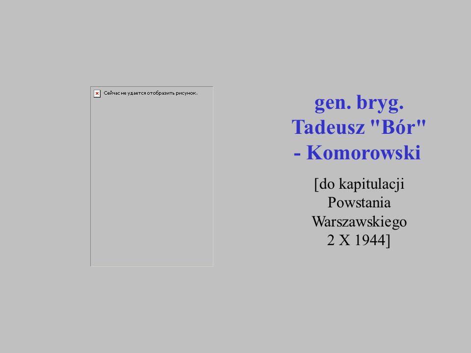 gen. bryg. Tadeusz