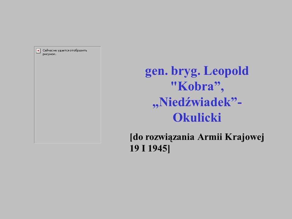 gen. bryg. Leopold