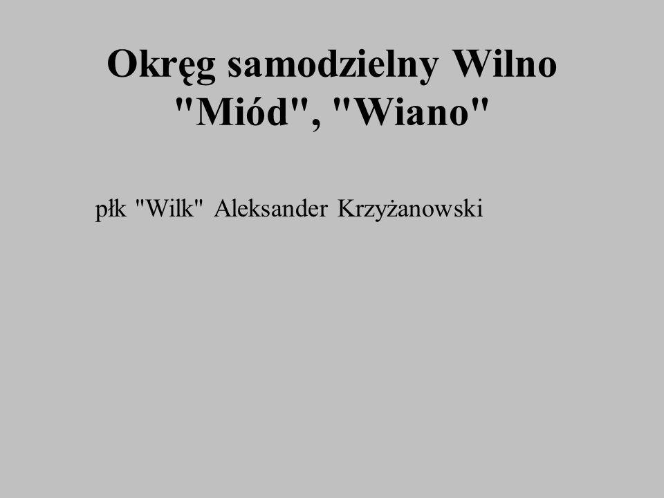 Okręg samodzielny Wilno