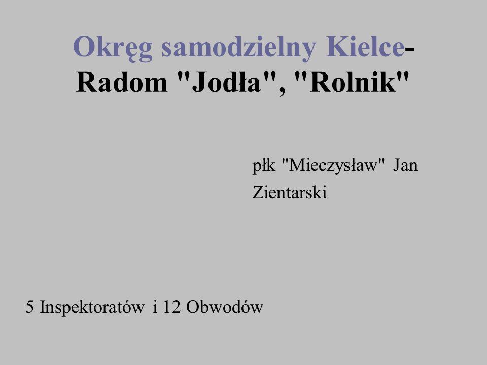 Okręg samodzielny Kielce- Radom