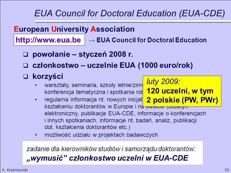 50A.Kraśniewski powołanie – styczeń 2008 r.