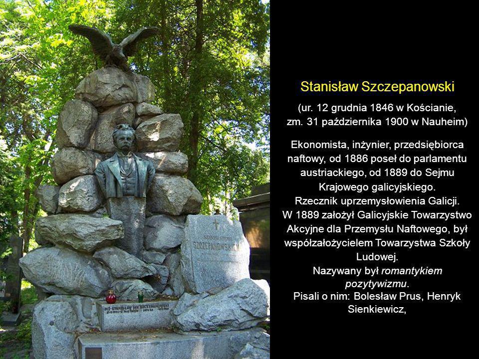 Franciszek Jan Smolka (ur. 5 listopada 1810 w Kałuszu, zm. 5 listopada 1899 we Lwowie) Prawnik, polityk liberalny, działacz społeczny, prezydent parla