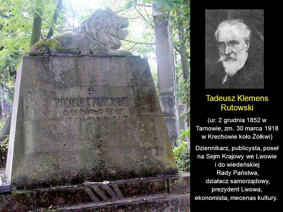 Franciszek Jaworski (ur. 21 listopada 1873 w Gródku Jagiellońskim, zm.18 marca 1914 we Lwowie) Historyk, dziennikarz, publicysta, pisarz, archiwista i