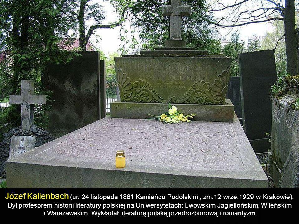 Franciszek Stefczyk (ur. 2 grudnia 1861 w Krakowie, zm. 30 czerwca 1924 w Krakowie) Działacz spółdzielczości. Z wykształcenia historyk. Jako nauczycie