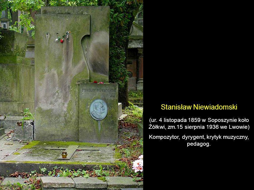 prof. Jerzy Adolf Kazimierz Twardowski (ur. 20 października 1866 w Wiedniu, zm. 11 lutego 1938 w Milanówku) Filozof, twórca lwowsko-warszawskiej szkoł