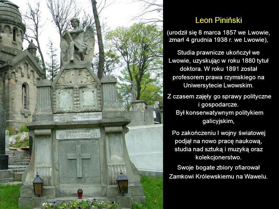 Stanisław Niewiadomski (ur. 4 listopada 1859 w Soposzynie koło Żółkwi, zm.15 sierpnia 1936 we Lwowie) Kompozytor, dyrygent, krytyk muzyczny, pedagog.