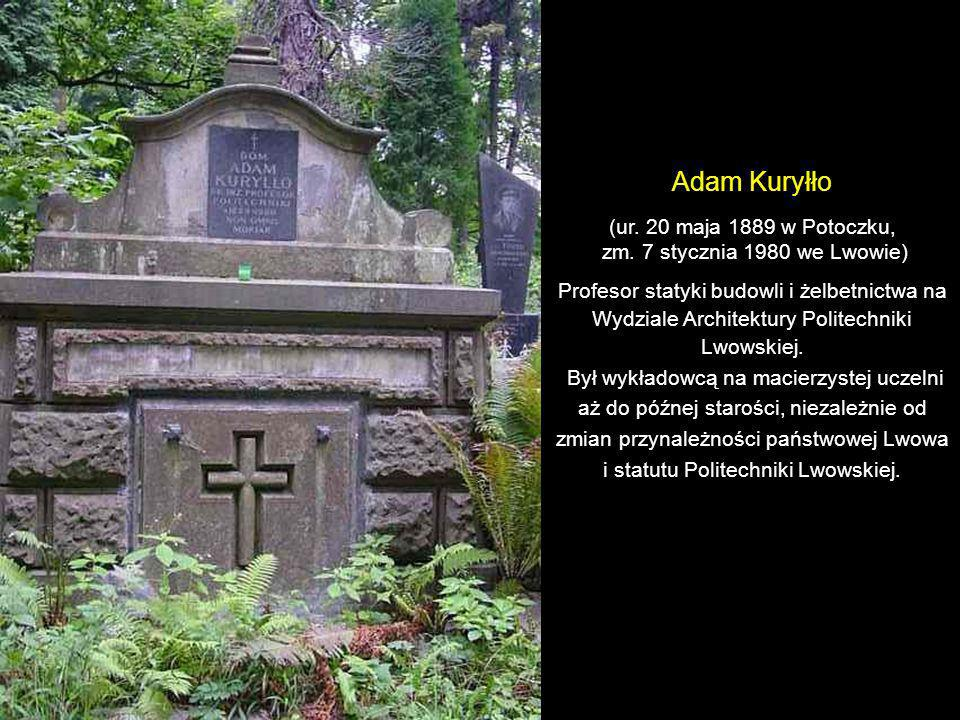 Mieczysław Sołtys (ur. 7 lutego 1863 we Lwowie, zm. 11 listopada 1929 we Lwowie) Kompozytor, dyrygent, pedagog i organizator życia muzycznego. Adam So