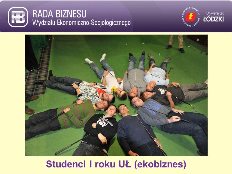 Studenci I roku UŁ (ekobiznes)