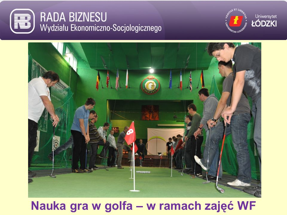 Nauka gra w golfa – w ramach zajęć WF