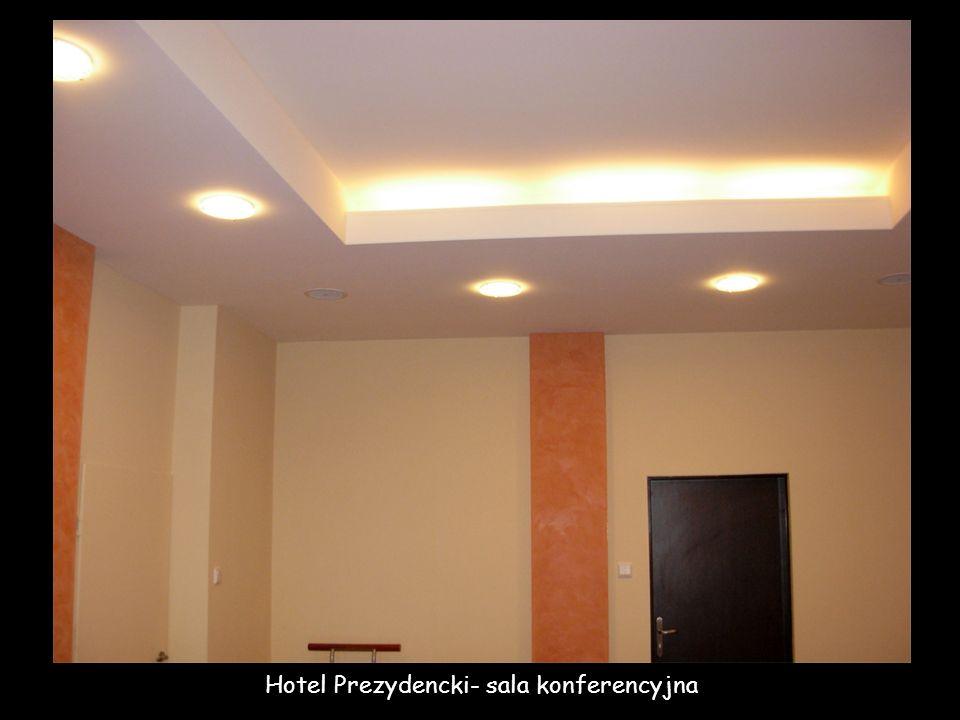 Hotel Prezydencki- sala konferencyjna