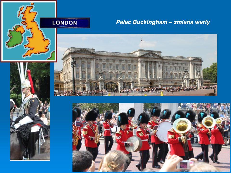 Pałac Buckingham – zmiana warty