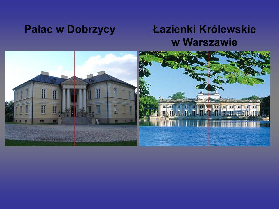 Pałac w DobrzycyŁazienki Królewskie w Warszawie