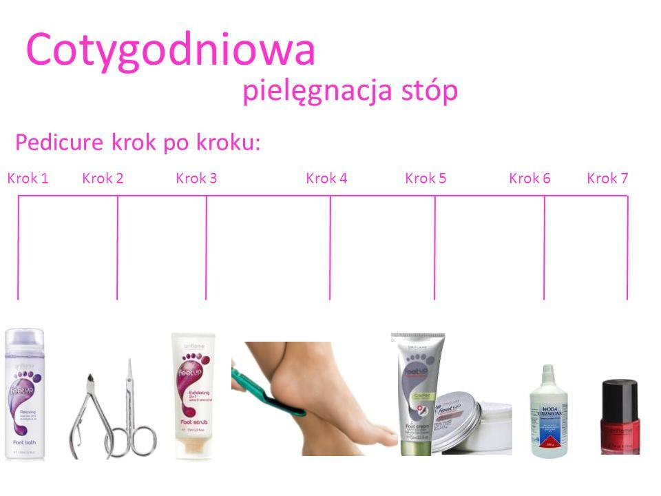 Pedicure krok po kroku: Cotygodniowa pielęgnacja stóp Krok 1Krok 2Krok 3Krok 4Krok 5Krok 6Krok 7