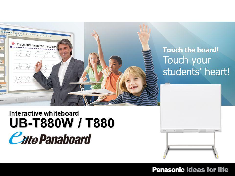 2 2010 UB-T880W/T880 SALES GUIDE Użyj tablicy elite Panaboard do pracy na PC.