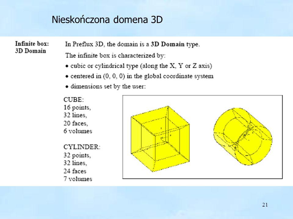 21 Nieskończona domena 3D