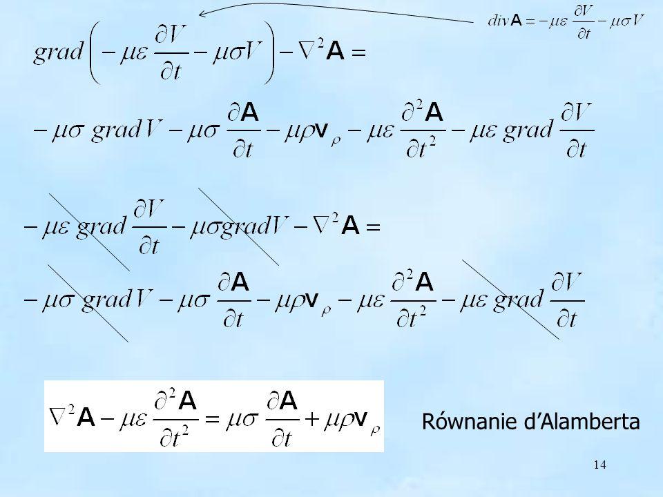 14 Równanie dAlamberta