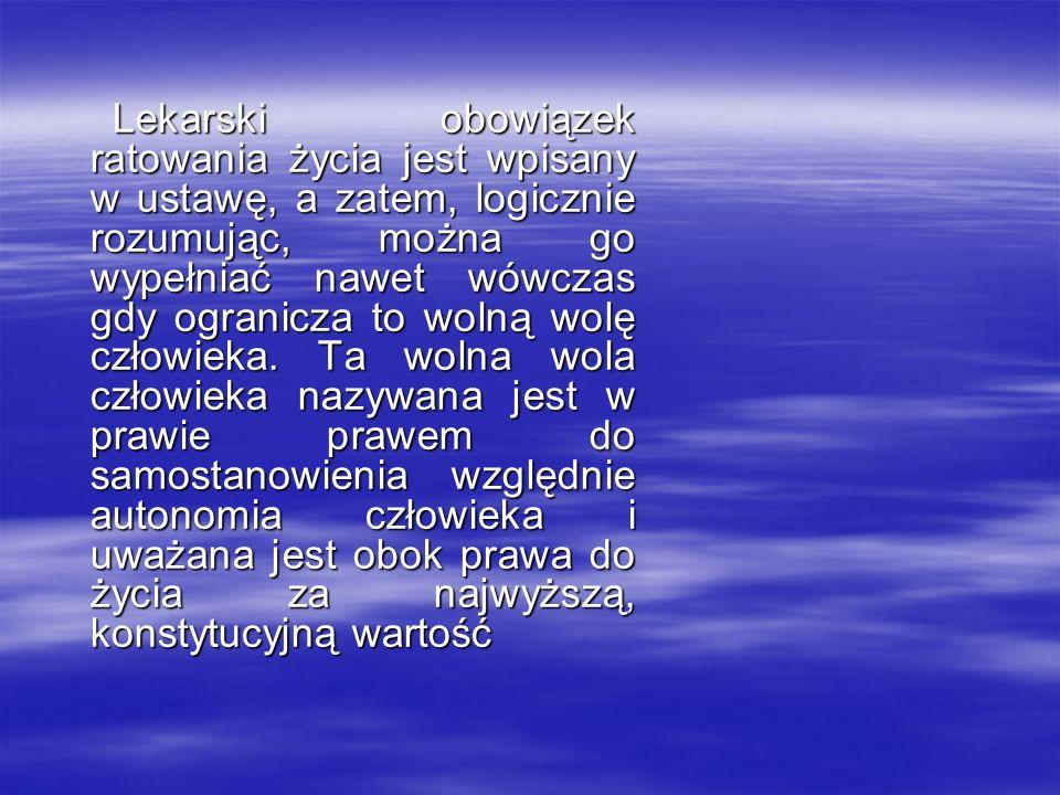 Stanowiska prawników- karnistów: Z.Banaszczyk, M.
