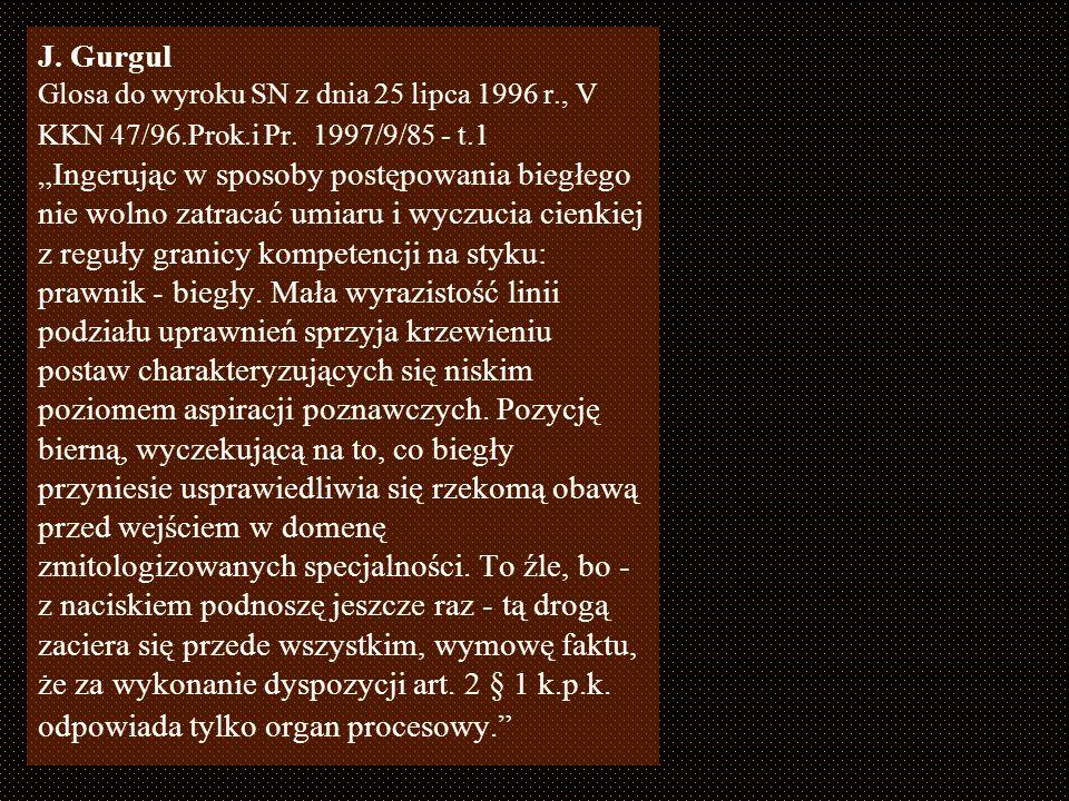 Materiał – 281 opinii zespołowych wydanych w 2003 w ZMS we Wrocławiu, 88 opinii – dotyczyło spraw prowadzonych z art. 160 kk Rodzaje pytań spotykanych
