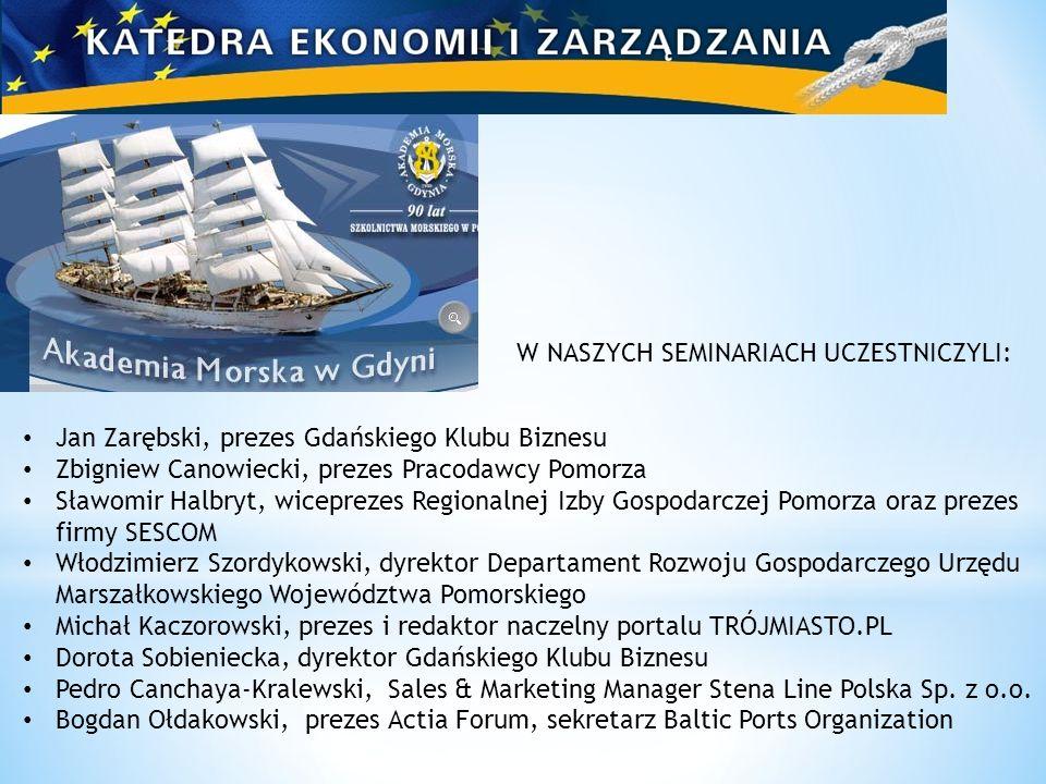 Jan Zarębski, prezes Gdańskiego Klubu Biznesu Zbigniew Canowiecki, prezes Pracodawcy Pomorza Sławomir Halbryt, wiceprezes Regionalnej Izby Gospodarcze