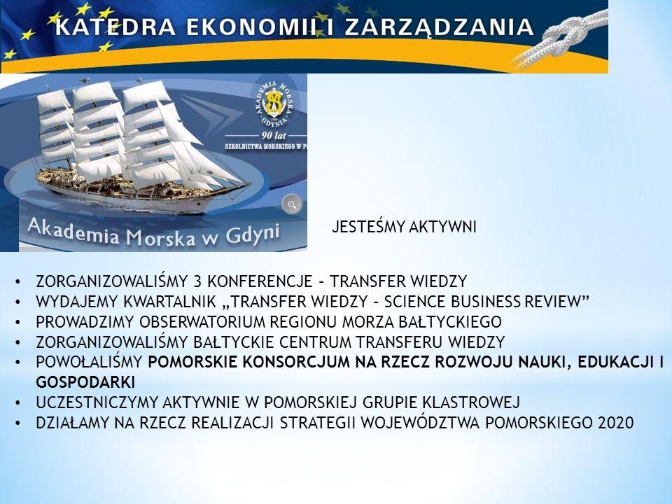 Dziękuję za uwagę Marek Grzybowski Prof.AM GDYNIA dr hab.