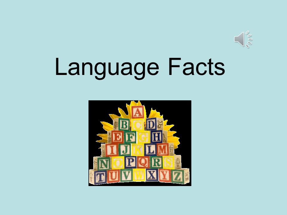 Language Facts