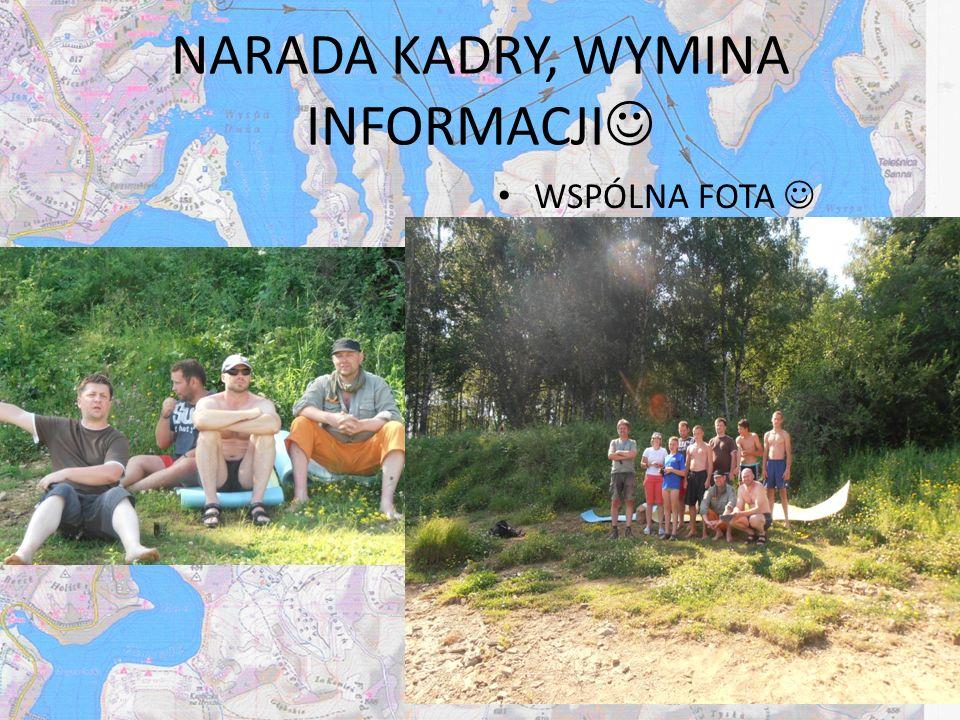 NARADA KADRY, WYMINA INFORMACJI WSPÓLNA FOTA