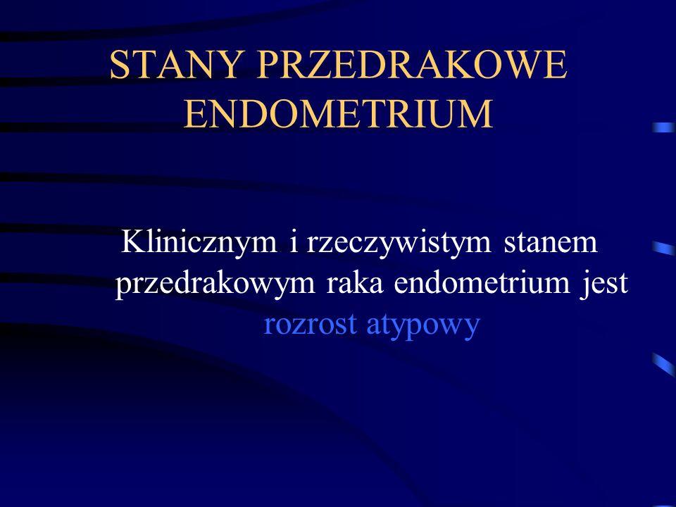 Rozrosty endometrium Leczenie Kobiety po 50 r.ż.