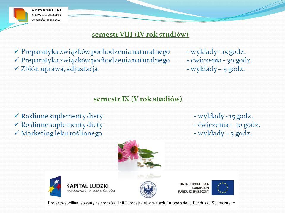 Zapisy na specjalności: Lek roślinny oraz Farmacja przemysłowa rozpoczynają się dnia 07.06.2010 r.