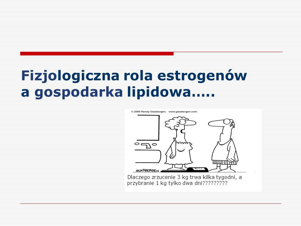 Fizjologiczna rola estrogenów a gospodarka lipidowa…..