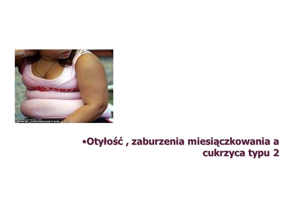 Otyłość, zaburzenia miesiączkowania a cukrzyca typu 2Otyłość, zaburzenia miesiączkowania a cukrzyca typu 2