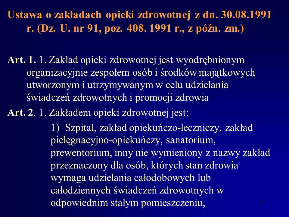 Ustawa o izbach lekarskich z dn. 17.05.1989 r. (Dz. U. nr 30, poz. 158) Art. 48. Postępowanie w przedmiocie odpowiedzialności zawodowej o ten sam czyn