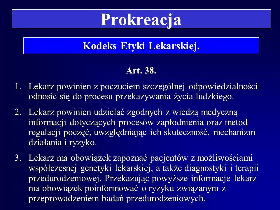 Barbara KATEDRA MEDYCYNY SĄDOWEJ A.M. WE WROCŁAWIU ZAKŁAD PRAWA MEDYCZNEGO Prof. dr hab. Barbara Świątek PRAWO MEDYCZNE Prokreacja.