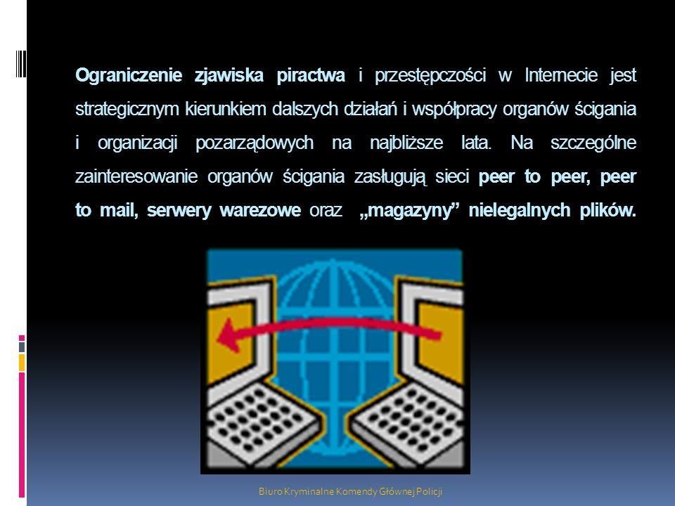 Ograniczenie zjawiska piractwa i przestępczości w Internecie jest strategicznym kierunkiem dalszych działań i współpracy organów ścigania i organizacj