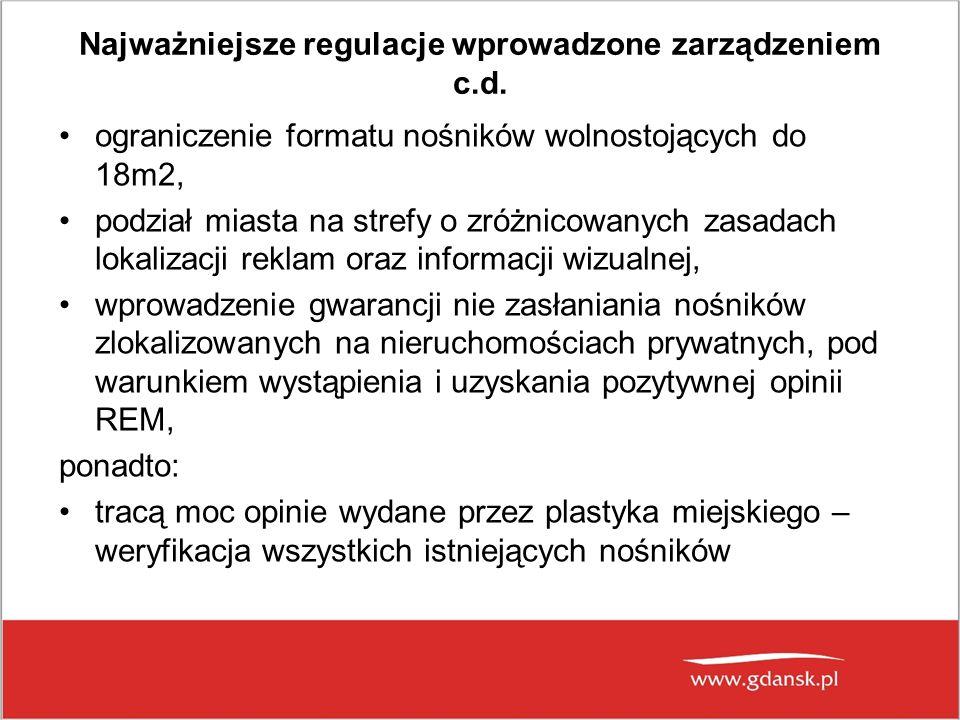 Najważniejsze regulacje wprowadzone zarządzeniem c.d.