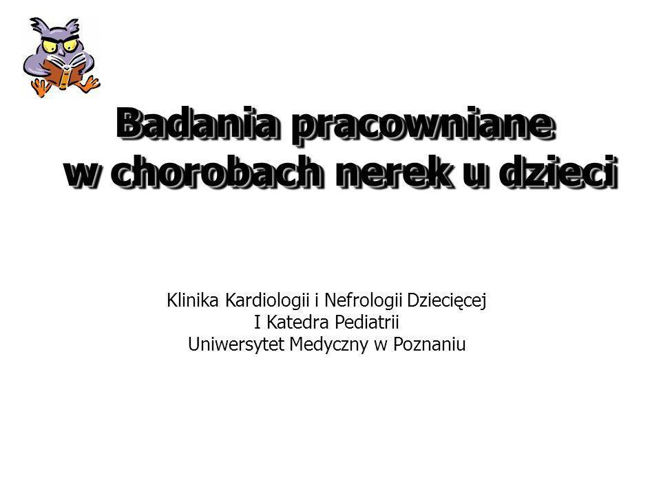 Białkomocz Mikroalbuminuria/białkomocz Cz.prognostyczny postępu chorób nerek Cz.