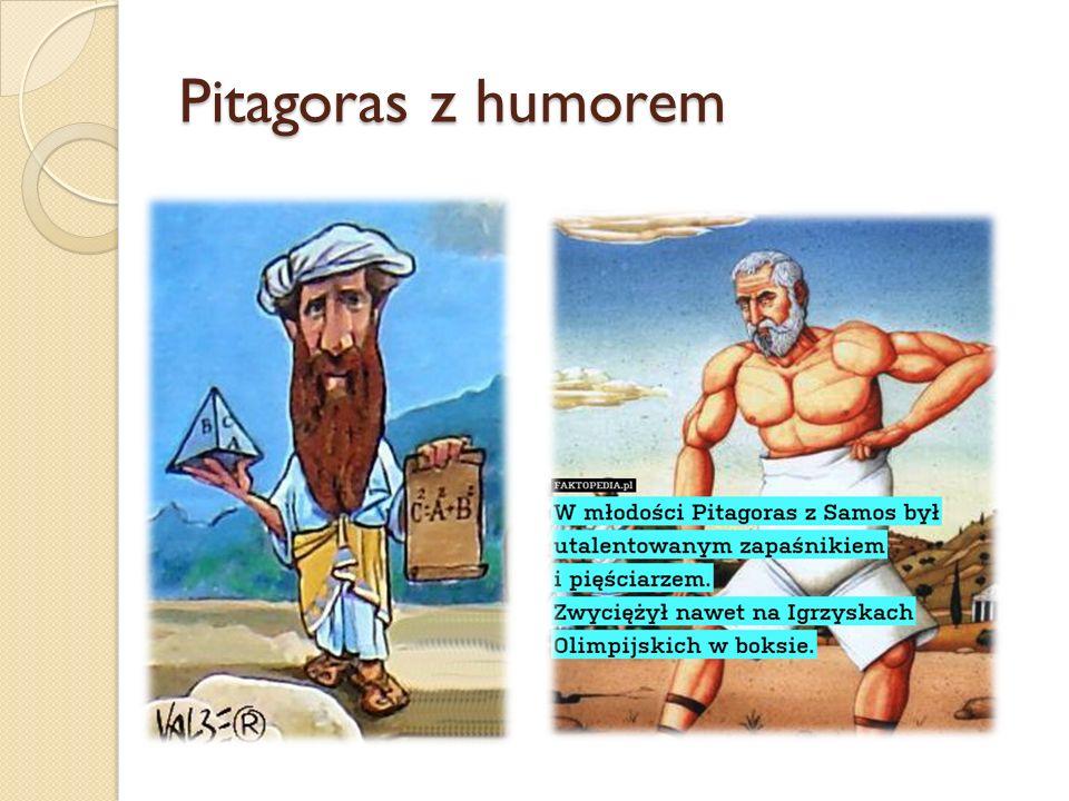 Pitagoras z humorem