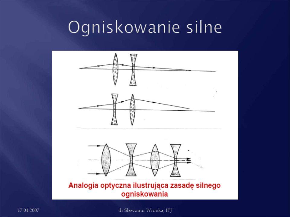 17.04.2007dr Sławomir Wronka, IPJ